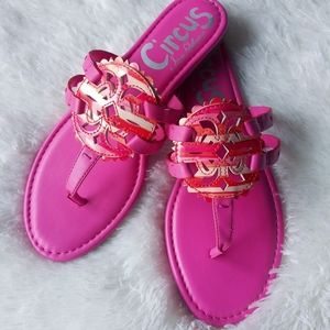 NWT Sam Edelman Cherri Pink Sandals Sz 8